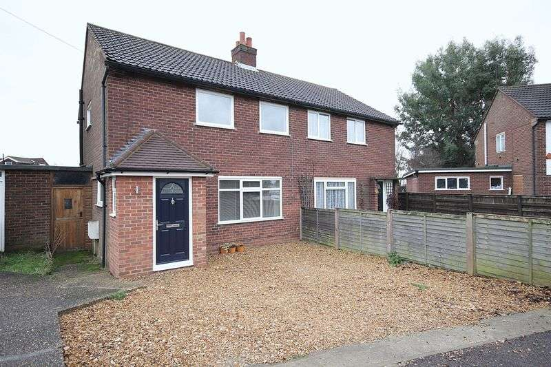 3 Bedrooms Semi Detached House for sale in Queens Road, Ampthill
