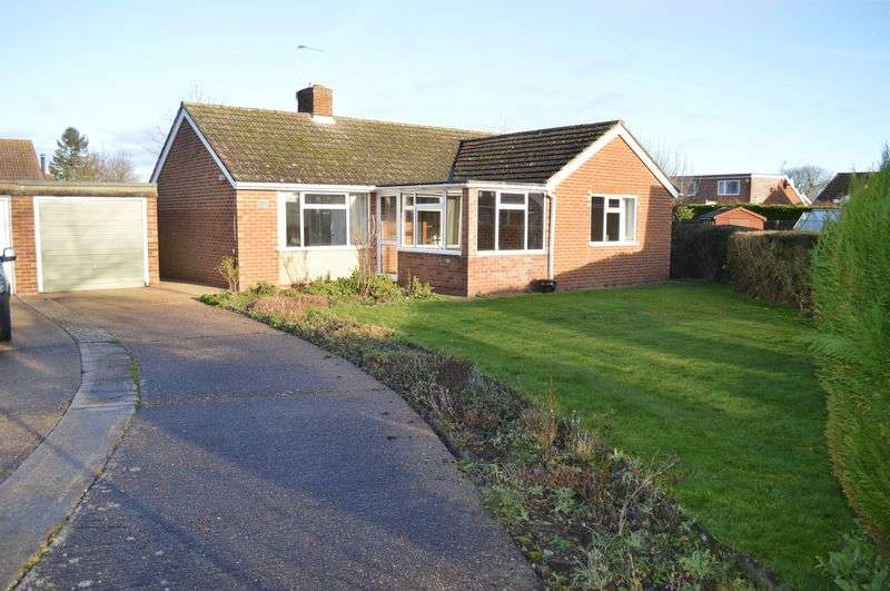 2 Bedrooms Detached Bungalow for sale in St. Matthews Close, CHERRY WILLINGHAM