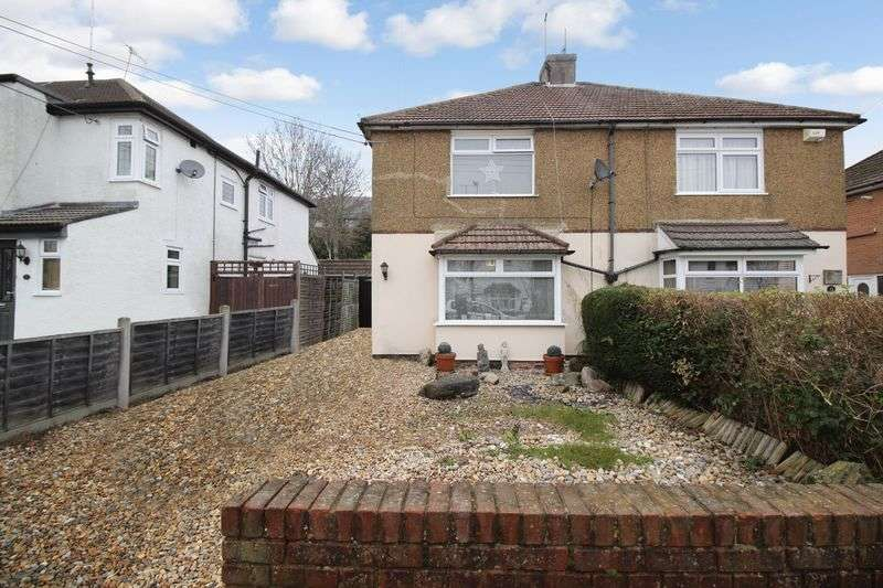 3 Bedrooms Semi Detached House for sale in Tushmore Avenue, Crawley