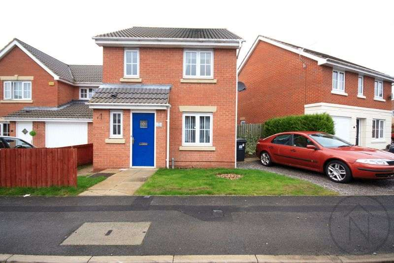 3 Bedrooms Detached House for sale in Holly Close, Darlington