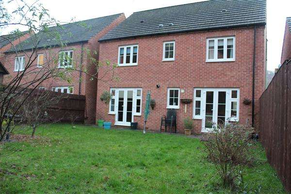 4 Bedrooms Detached House for sale in Bluebell Way, Llanbradech, Caerphilly