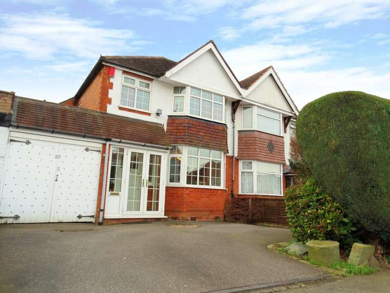 3 Bedrooms Semi Detached House for sale in Dene Court Road, Solihull