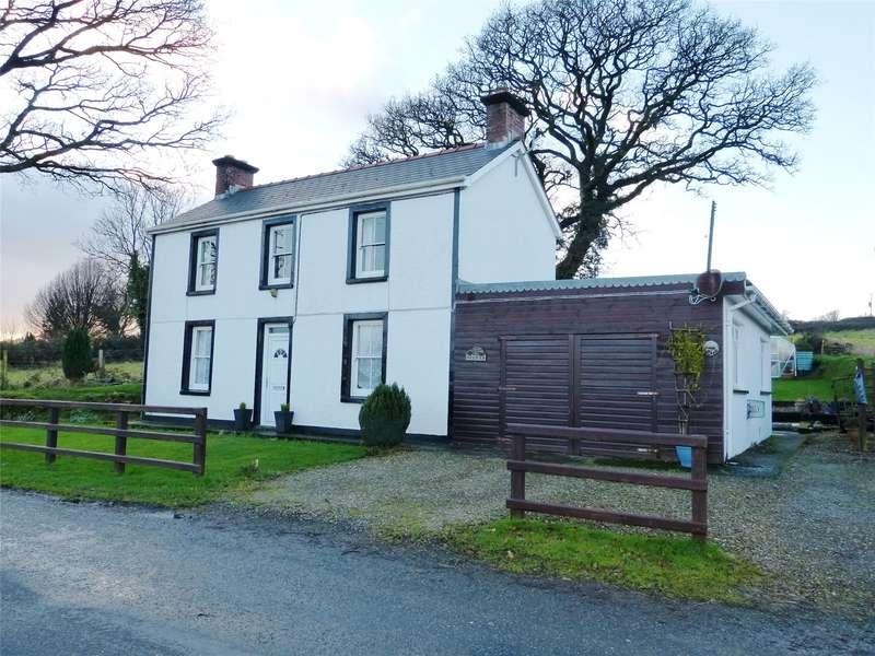 2 Bedrooms Detached House for sale in Delfan, Llanfallteg, Whitland, Sir Gaerfyrddin