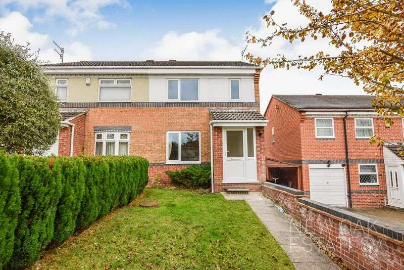 3 Bedrooms Semi Detached House for sale in Herriot Drive, Chesterfield