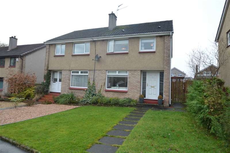 3 Bedrooms Semi Detached House for sale in Annan Glade, Motherwell