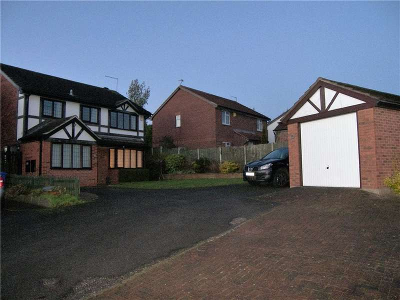 4 Bedrooms Detached House for sale in Delamere Close, Oakwood, Derby, Derbyshire, DE21