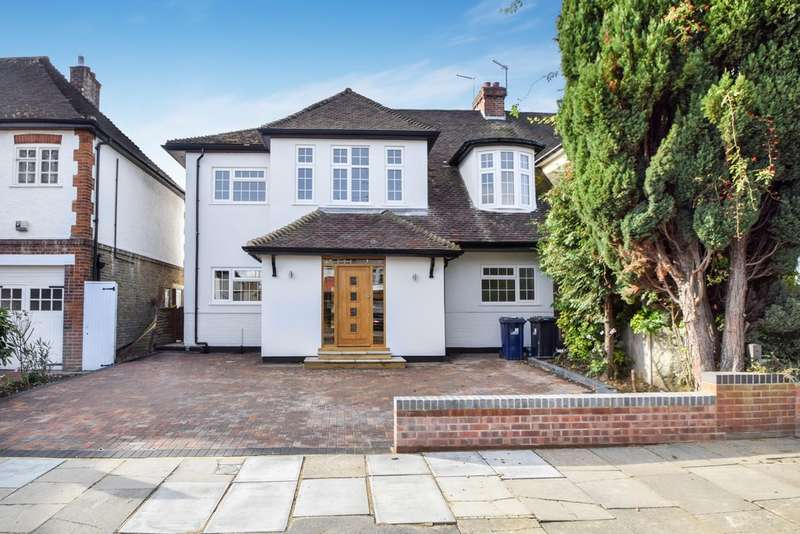 5 Bedrooms Semi Detached House for sale in Stuart Avenue, Ealing