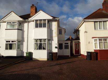 3 Bedrooms Semi Detached House for sale in Howard Road, Solihull, West Midlands