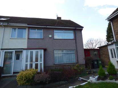 3 Bedrooms End Of Terrace House for sale in Sorany Close, Thornton, Liverpool, Merseyside, L23