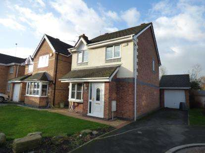 3 Bedrooms Detached House for sale in Teil Green, Fulwood, Preston, Lancashire, PR2