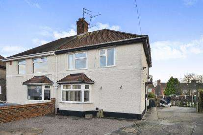 3 Bedrooms Semi Detached House for sale in Bonser Gardens, Sutton In Ashfield, Nottingham, Nottinghamshire