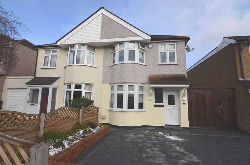 3 Bedrooms Semi Detached House for sale in Gloucester Avenue, Sidcup, DA15 7LL
