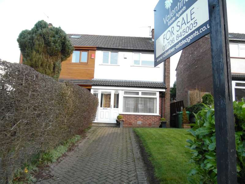 3 Bedrooms Semi Detached House for sale in The Link, High Crompton, Shaw