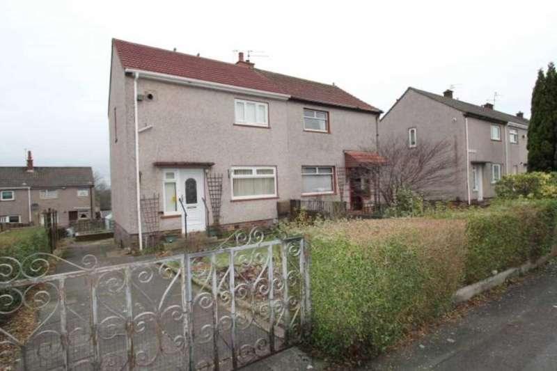 2 Bedrooms Semi Detached House for sale in Poplar Avenue, Johnstone Castle