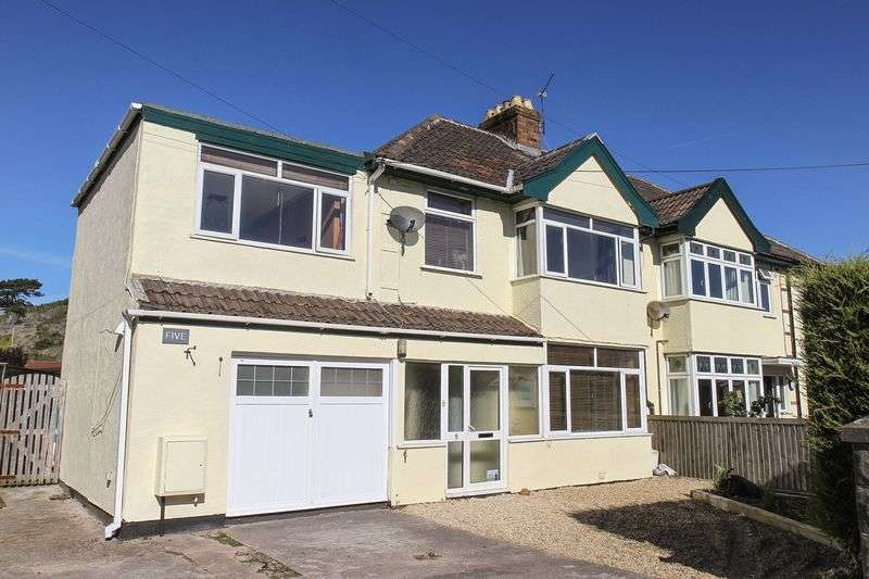 4 Bedrooms Semi Detached House for sale in Coleridge Vale Road North, Clevedon