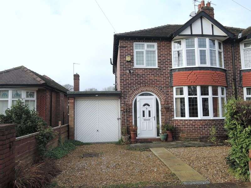 3 Bedrooms Semi Detached House for sale in Dingle Grove, Gatley