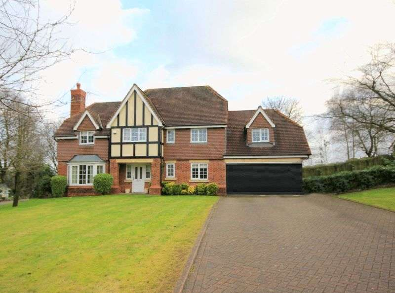 5 Bedrooms Detached House for sale in Nightingale Walk, Blythe Bridge, Stoke-On-Trent