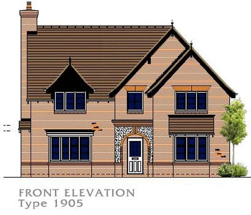 4 Bedrooms Detached House for sale in Oak House, Woodlands Walk, Ironbridge