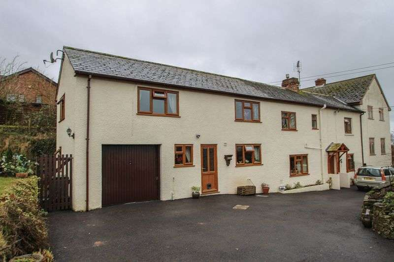 4 Bedrooms Semi Detached House for sale in Fairfield Paddock, Newbuildings, Crediton
