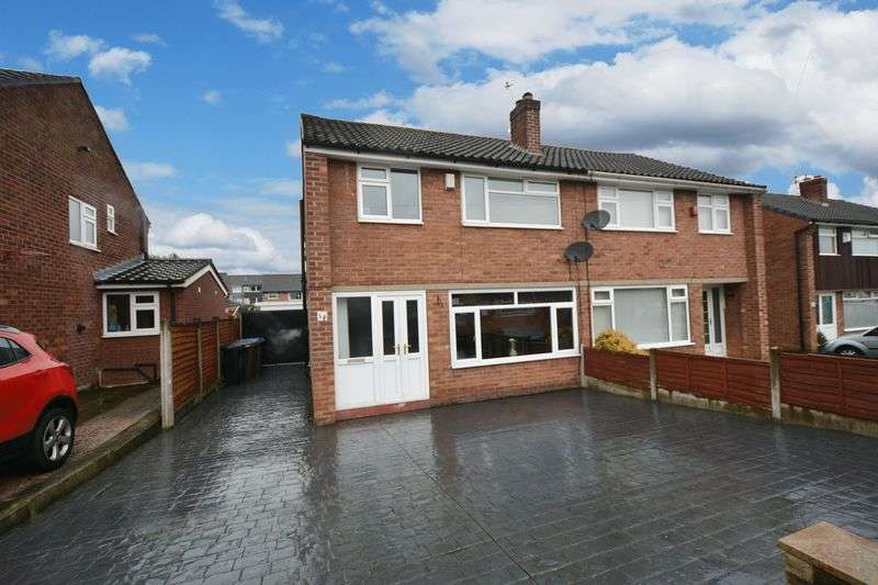 3 Bedrooms Semi Detached House for sale in Rossendale Road, Heald Green, Cheadle
