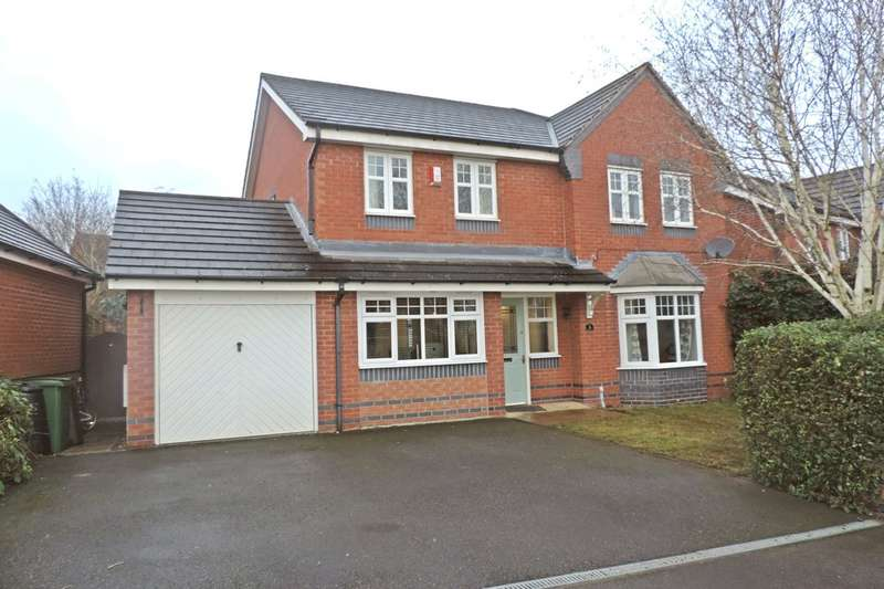 4 Bedrooms Detached House for sale in Meadow Sweet Drive, Walton On The Hill, Stafford