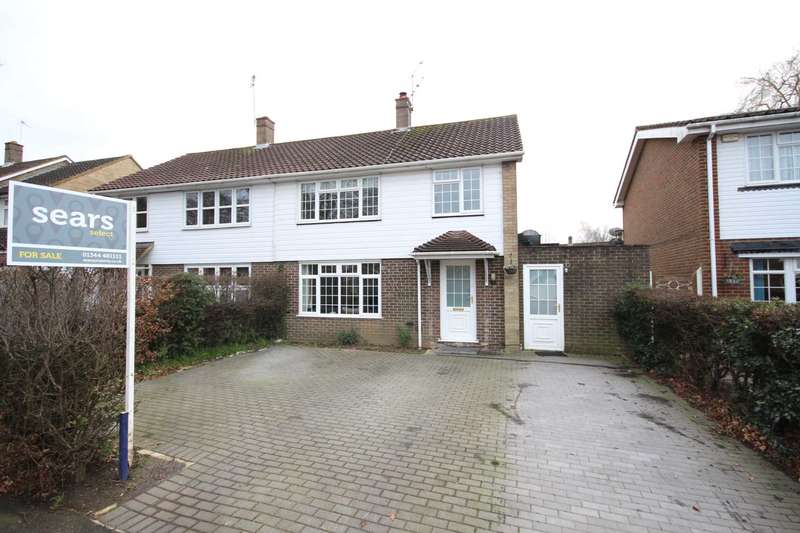 3 Bedrooms Semi Detached House for sale in Rectory Lane, Bracknell