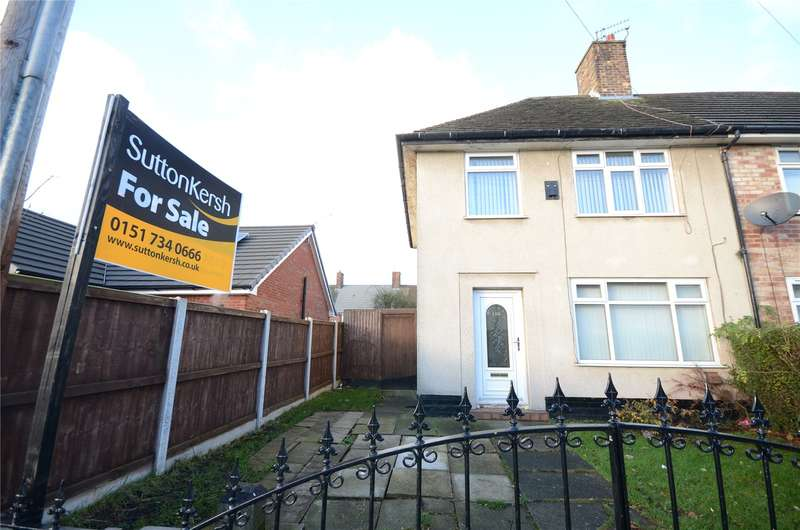 3 Bedrooms End Of Terrace House for sale in Linner Road, Speke, Liverpool, L24