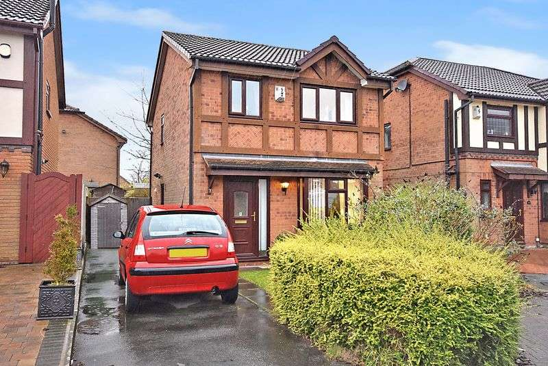3 Bedrooms Detached House for sale in Misty Close, Widnes