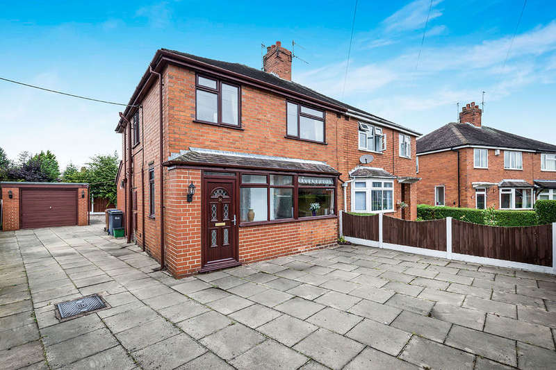 3 Bedrooms Semi Detached House for sale in Elmsmere Avenue, Blurton, Stoke-On-Trent, ST3