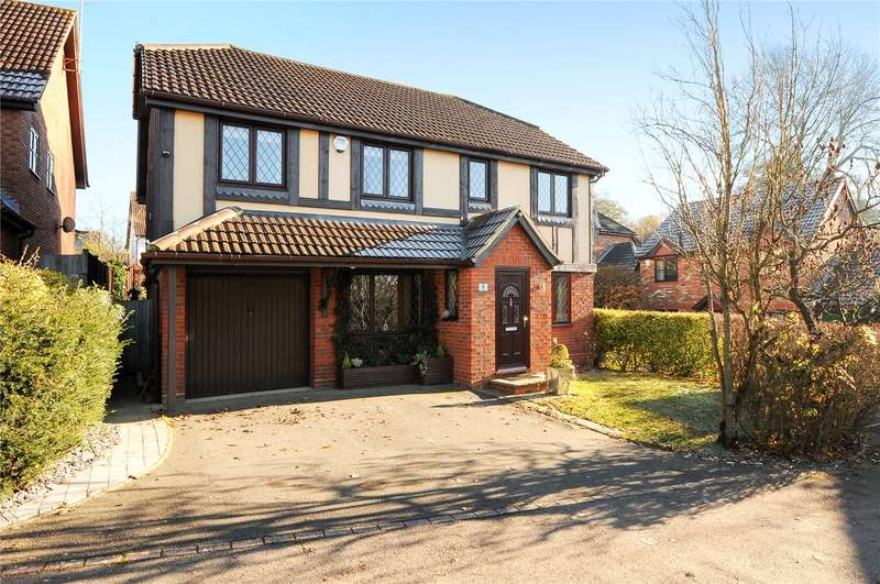 4 Bedrooms Detached House for sale in Westmorland Drive, Warfield, Berkshire, RG42
