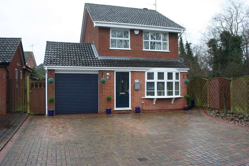 3 Bedrooms Detached House for sale in Hawker Way, Woodley, Reading, RG5