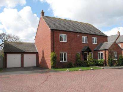 5 Bedrooms Detached House for sale in Horner Avenue, Fradley, Lichfield, Staffordshire