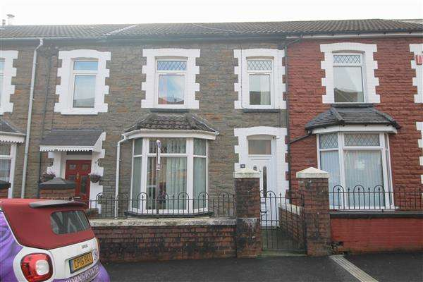 3 Bedrooms Terraced House for sale in Davies Street, Porth, Porth