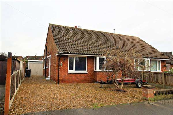 2 Bedrooms Semi Detached Bungalow for sale in Bannister Close, Higher Walton, Preston