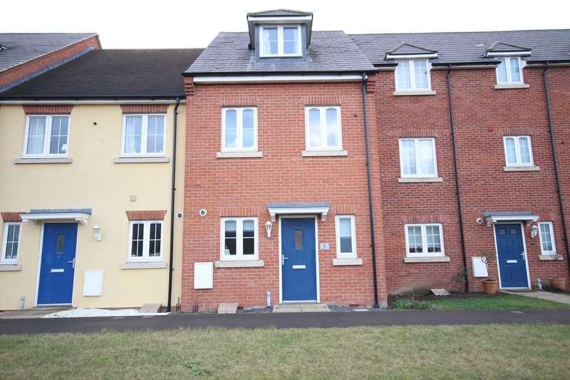 3 Bedrooms Terraced House for sale in Wedon Path, Buckingham Park