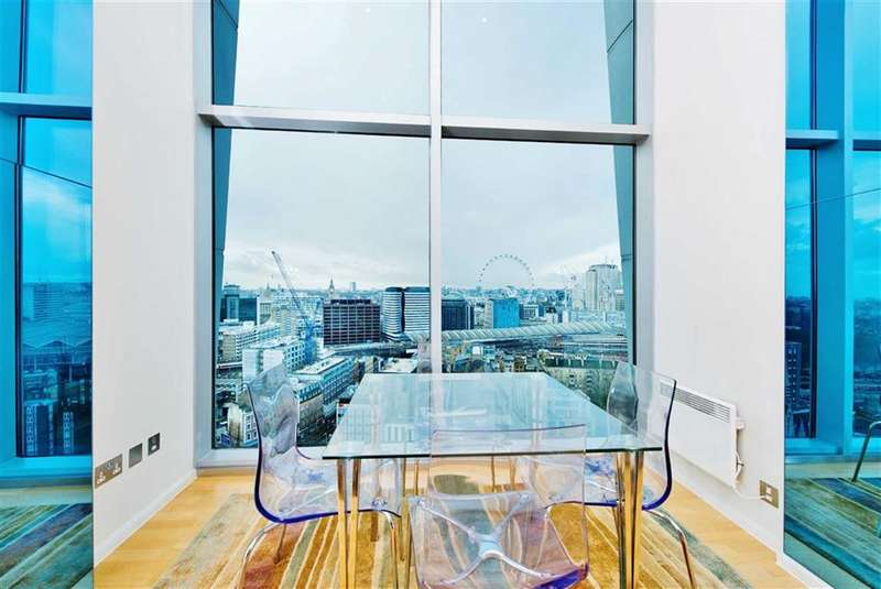 3 Bedrooms Property for sale in The Perspective Building, South Bank, London