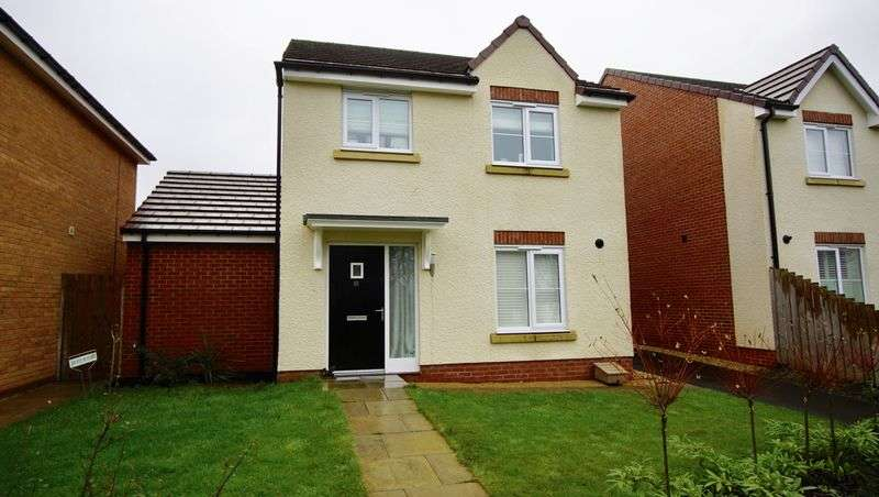 4 Bedrooms Detached House for sale in MINISTRY CLOSE, Benton