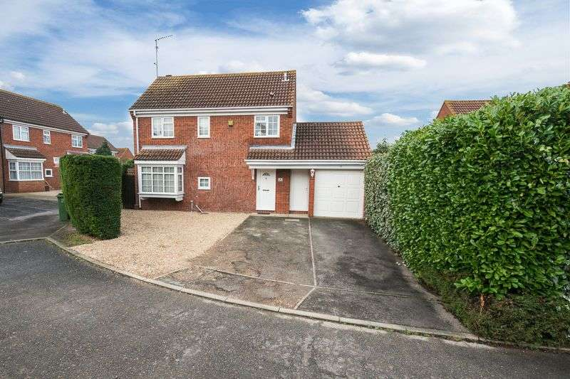 3 Bedrooms Detached House for sale in Jarvis Close, Aylesbury