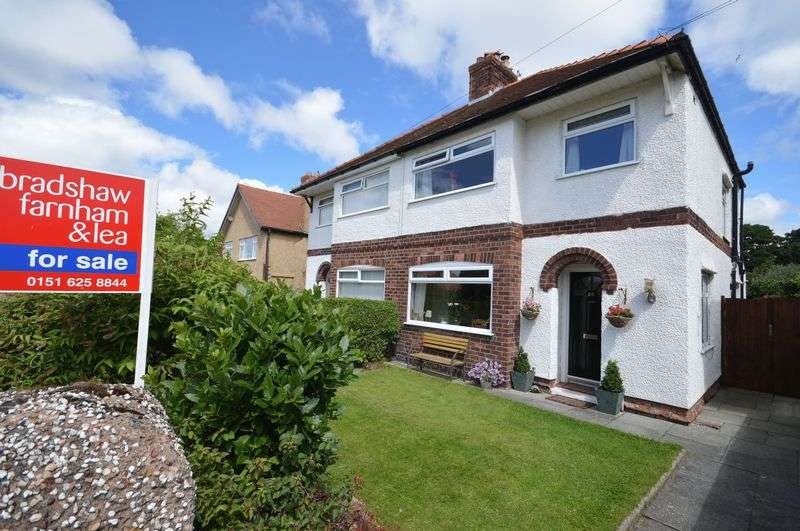 3 Bedrooms Semi Detached House for sale in Jubilee Drive, West Kirby