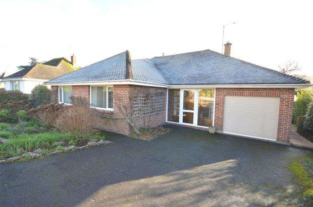 2 Bedrooms Detached Bungalow for sale in Yardelands, Sidmouth, Devon