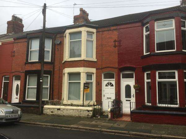 3 Bedrooms Terraced House for sale in 37 CEDARDALE ROAD, LIVERPOOL