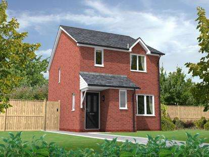 3 Bedrooms Semi Detached House for sale in Chatsworth Park, Off Rope Lane, Shavington