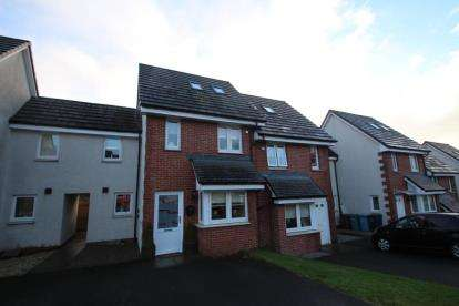 3 Bedrooms Terraced House for sale in Milldam Road, Caldercruix, Airdrie, North Lanarkshire