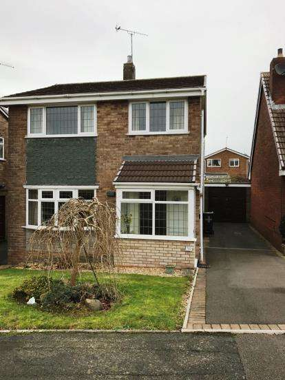 3 Bedrooms Detached House for sale in Hoylake Drive, Tividale, Oldbury, West Midlands