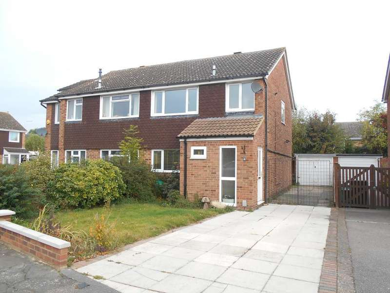 3 Bedrooms Semi Detached House for sale in Frome Close, Bedford, Bedfordshire, MK41 7UA