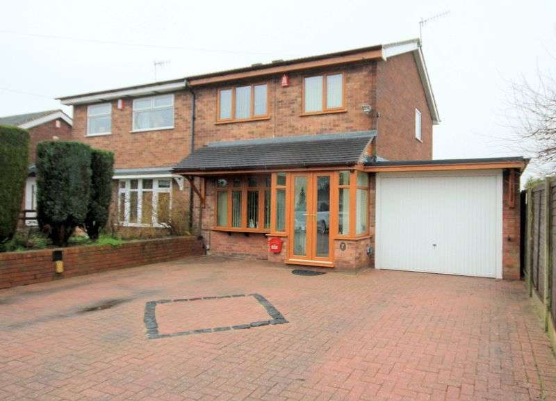 3 Bedrooms Semi Detached House for sale in Tutbury Grove, Meir Hay
