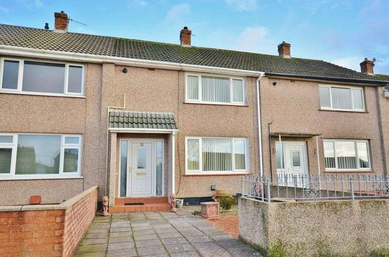 2 Bedrooms Terraced House for sale in Miterdale Close, Whitehaven