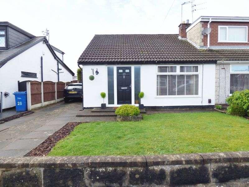 3 Bedrooms Semi Detached Bungalow for sale in Arlington Drive, Penketh, Warrington