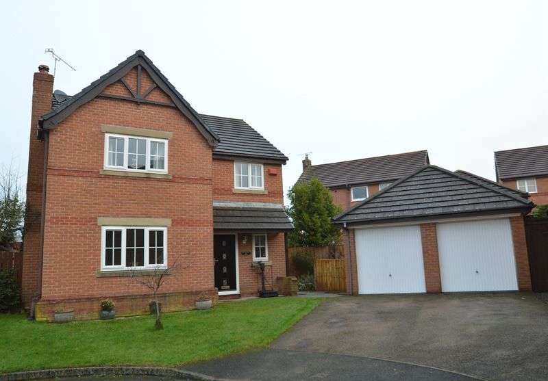 4 Bedrooms Detached House for sale in Cromwell Close, Penyffordd
