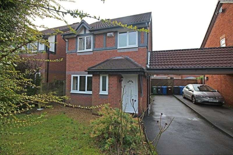 3 Bedrooms Detached House for sale in West Vale, Radcliffe, M26